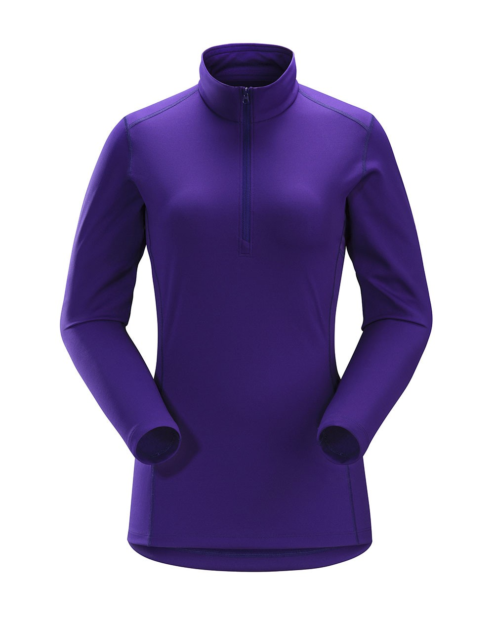 ARC'TERYX - PHASE AR ZIP NECK LS WOMEN'S - WOMEN