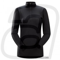 ARC'TERYX - W PHASE SV ZIP NECK LS - WOMEN