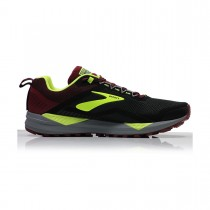 BROOKS - CASCADIA 14 031 BLACK/RE - MEN