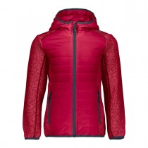 CAMPAGNOLO - GIRL JACKET FIX HOOD HYBRID 38H1445 - GIRLS