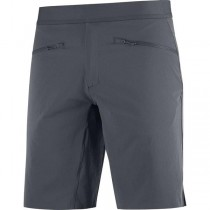 SALOMON - WAYFARER PULL ON SHORT M EBONY - MEN