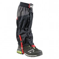 MILLET - HIGH ROUTE GAITER BLACK/RED