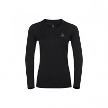 ODLO - SUW TOP CREW NECK L/S NATURAL 100% MERIN - WOMEN