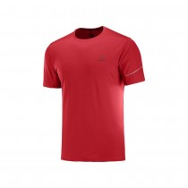 SALOMON - AGILE SS TEE M GOJI BERRY - MEN