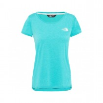 THE NORTH FACE - W INLUX S/S TOP BLUE WING TEAL - WOMEN