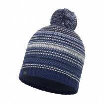 BUFF - KNITTED & POLAR HAT NEPER BLUE INK - MEN