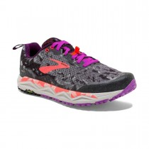 BROOKS - CALDERA 3 WMN BLK PURPLE - WOMEN