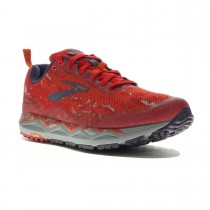 BROOKS - CALDERA 3 RED ORANGE - MEN