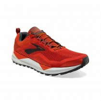 BROOKS - CASCADIA 14 RED 686 - MEN