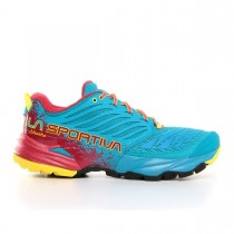 LA SPORTIVA - AKASHA TROPIC BLUE/CARDINAL RED - MEN