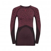 ODLO - BL TOP CREW NECK L/S BLACKCOMB - WOMEN