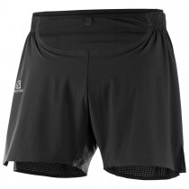 SALOMON - SENSE PRO SHORT M BLACK/BLACK - MEN