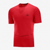 SALOMON - SENSE ULTRA TEE M GOJI BERRY - MEN