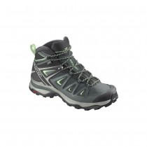 SALOMON - X ULTRA 3 MID GTX W GREEN - WOMEN