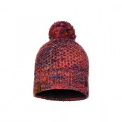 KNITTED & POLAR HAT MARGO MAROON